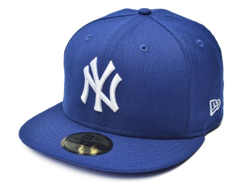 UPC 883233309764, MLB New York Yankees Light Royal with White 59FIFTY Fitted Cap, 7 3/8