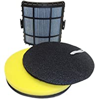 Best Vacuum Filter Brand Designed to fit Bissell Powerglide Lift-Off Filter Set, Compare to Bissell Vacuum Part 160-1972, 160-1973, 160-1974, 1601974, 1603437, 2763, 1211
