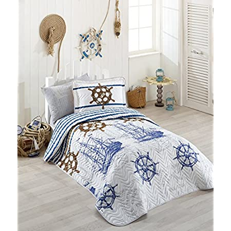 51dWNAWp98L._SS450_ Nautical Quilts and Beach Quilts