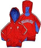 Philadelphia Phillies MLB Big Boys Lightweight Hooded Jacket - Red