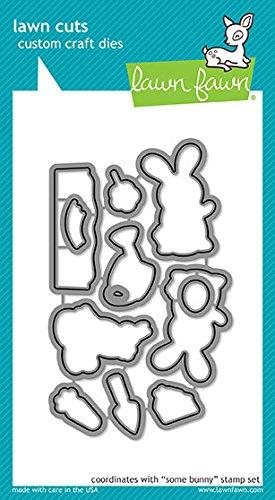 Lawn Fawn Lawn Cuts Custom Craft Die LF1588 Some Bunny (Lawn Fawn Bunnies)