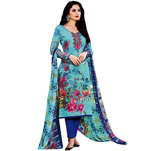Ready-Made-Gorgeous-Printed-Cotton-Salwar-Kameez-Suit-Indian-Dress