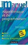 Mini manuel d'algorithmique et programmation