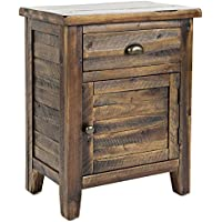 Accent Table in Dakota Oak Finish