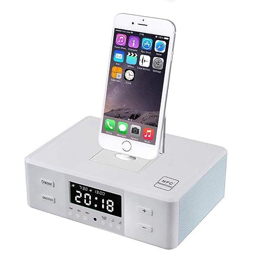 HEDDK Reloj Despertador Digital Cargador Inteligente ...