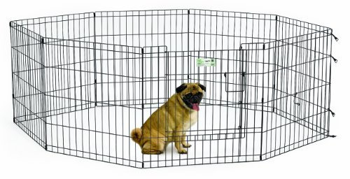 MidWest Homes for Pets Exercise Pen for Pets with Full Max L