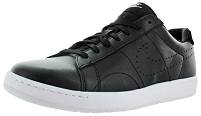 Nike Tennis Classic Ultra Mens Leather Court Shoes Black Size 9.5