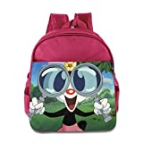 Animaniacs Dot Warner Toddler School Backpack Pink