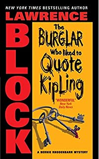 The burglar in the library bernie rhodenbarr lawrence block the burglar who liked to quote kipling bernie rhodenbarr fandeluxe Ebook collections