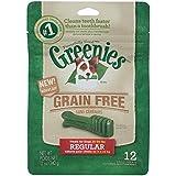 GREENIES Grain Free Dental Dog Treats, Regular, 12 Treats, 12 oz.