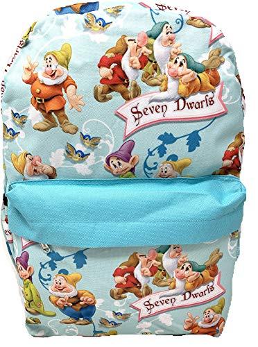Disney Princess Snow White Seven Dwarfs Allover Print 16