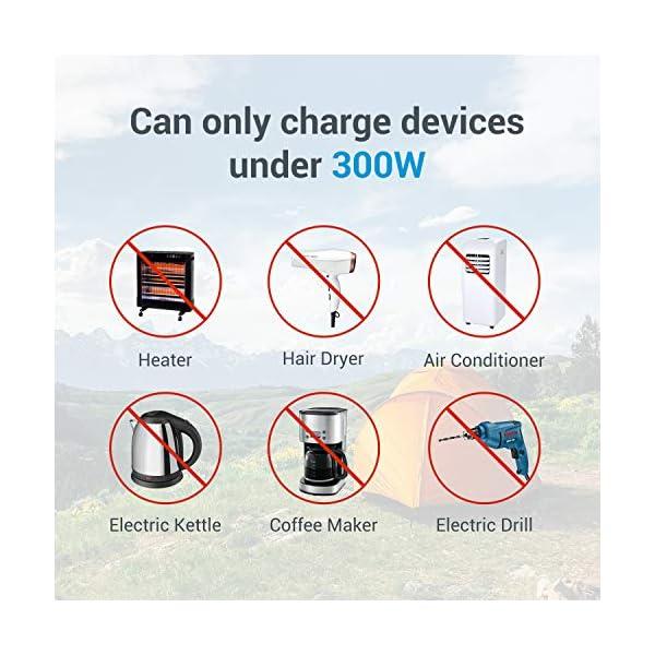 51dWQsAbw2L PowerOak 400wh mobiler energiespeicher solar generator lithium ionen power station 2AC 220V 2DC12V QC3.0 USB5V für…
