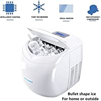 Peipei Ice Maker For Countertop Bullet Shape Ice Usb Ice Maker Automatic Portable Electric 1.8L