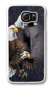 Find 10 Eagles Custom Samsung Galaxy S6/Samsung S6 Case Cover Polycarbonate White