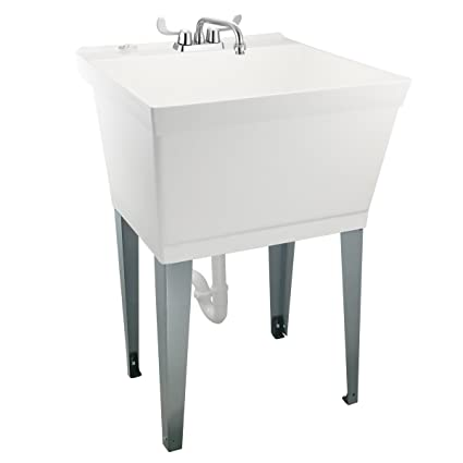 Beau Nearly Indestructible Laundry Utility Tub By MAYA   Heavy Duty 19 Gallon  Sink With Easy On