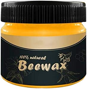 85g Wax Wood Seasoning Beewax Furniture Care Beeswax Home Cleaning Organic 100% Natural Pure (85g Beewax)