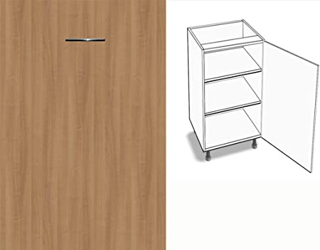 Kitchen Cupboard Unit 1 Door 50 Cm Wide 2 Shelves Euro Design 69 Colours And Hinged On The Right Left 23 Kirschbaum Romana Anschlag Rechts Amazon Co Uk Kitchen Home