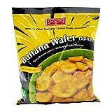 Shalini, Banana Wafer (Spicy), 150 Grams(gm)