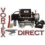 VORTEX 6000 LB Pound Recovery Winch Bonus Package JEEP, TRUCK, TRAILER