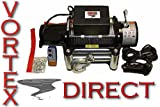 VORTEX 6000 LB Pound Recovery Winch Bonus Package JEEP, TRUCK, TRAILER (FAST SHIPPING - 1 TO 4 BUSINESS DAY DELIVERY)