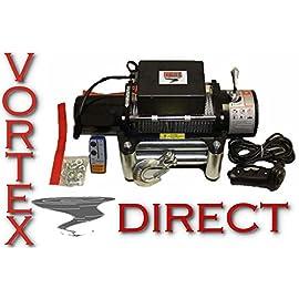 Vortex 6000 LB WINCH BONUS PACKAGE! 2 REMOTES! (JEEP, 4X4, 4WD)