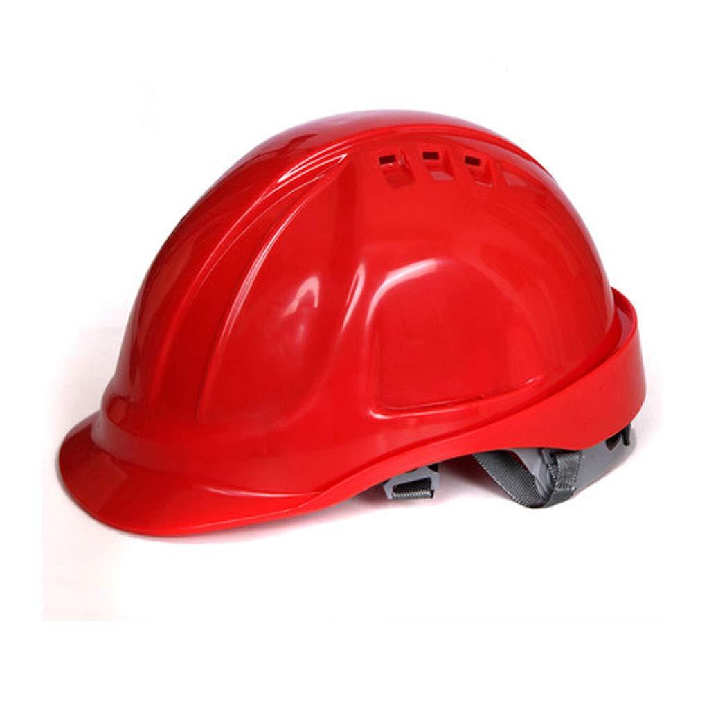 FEI JI Hard Hats - Construction Site In Protective Cap ABS Ventilation Construction Helmet Safety Labor Insurance Hard Helmet - Head Protection Equipment -''Keep Cool'' Ventilated Helmet, Fully Adjusta