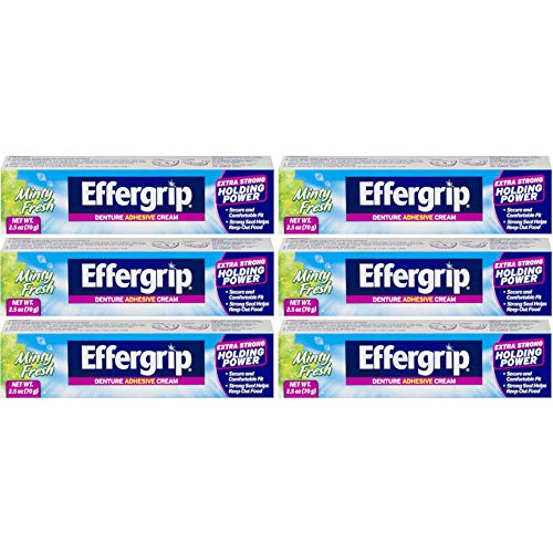 Special pack of 6 Effergrip Effergrip Cream 2.5 ()
