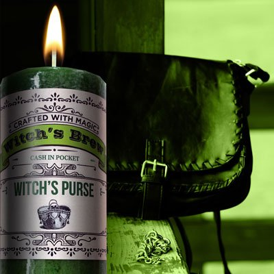 Witched Brew -  Witches Purse (Prosperity Candle)