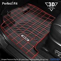 oEdRo Floor Mats Compatible for Toyota Tundra 2014-2019