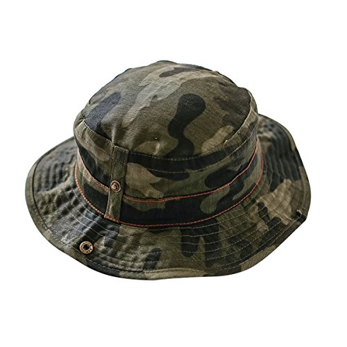 Toddler Floppy Hat kids Sun Hat with Chin Strap Unisex Baby Sun Protection Hat (0 - 6 Months, Camouflage)