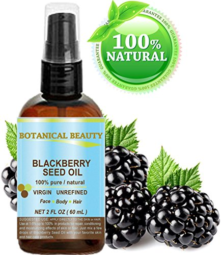 BLACKBERRY SEED OIL 100% Pure / Natural / Virgin/ Unrefined.