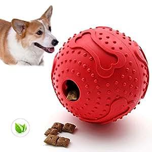 Pet Supplies : ThinkPet Rubber IQ Treat Ball Interactive