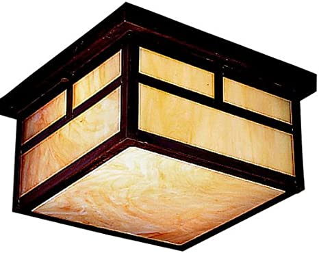 Kichler 9825CV Alameda Outdoor Ceiling 2-Light, Canyon View