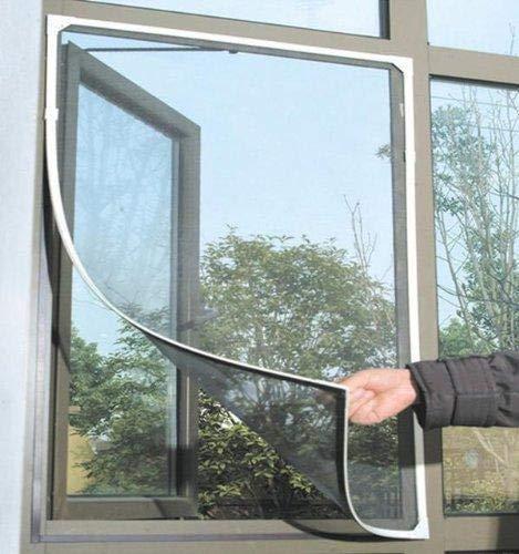 Depory PVC Fai da Te zanzare zanzare zanzare zanzare zanzare zanzare zanzariera a Rete per Porte e finestre