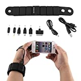 hongfei Wrist Band Gadget External Power Bank USB Battery Chargers For iPhone PSP Samsung Nokia NDS Lite