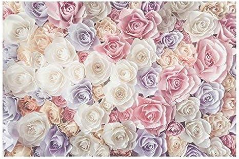 Papier Peint Intisse Top Fond D Ecran Des Roses Mural Large Papier Peint Photo Intisse Tableau Mural Xxl Photo 3d Mural 190cm X 288cm Motif Papier Pastel Roses Art Amazon Fr Bricolage