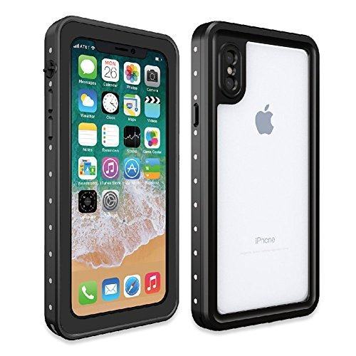 Price comparison product image Besinpo Waterproof Case iPhone X, Underwater Full Body protection Drop Proof Cover for iPhone 10