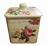 Retro frosted Storage Tins Boxes Practical Sealed Tea/Coffee/Candy/Canisters-02