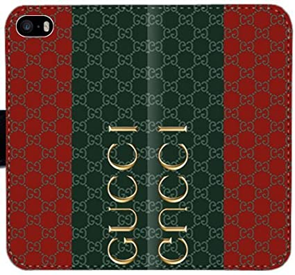 b7c1520c5387 Gucci 33KD2 iPhone 6 6s 4.7 Inch Leather Wallet Cell Phone Case H53P7 DIY  3D Flip Case Cover  Amazon.co.uk  Electronics