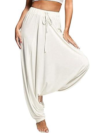 JUTOO 2019 Yoga Pants Women Plus Size Solid Color Casual Loose Harem Pants  Yoga Pants Women b2c9cc0741c5