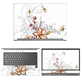 decalrus - Protective Decal Floral Skin Sticker for Lenovo Yoga C930 (13.9'' Screen) case Cover wrap LEyoga13_C930-77