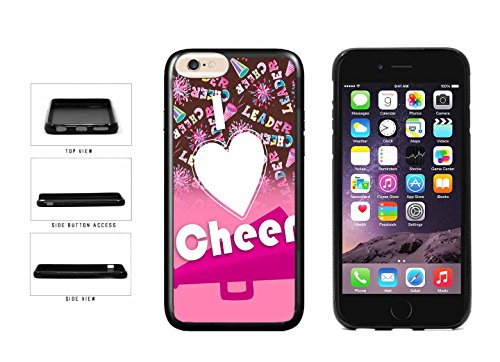 Plate Cheerleader Girl (Cheerleader I Love to Cheer on Pink TPU RUBBER Phone Case Back Cover Apple iPhone 6 Plus and iPhone 6s Plus (5.5 inches screen) includes BleuReign(TM) Cloth and Warranty Label)