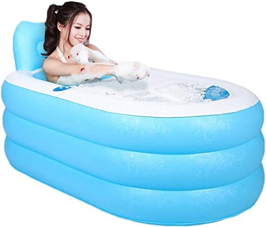 Xiao Mi Guo Ji Bañera Inflable, bañera para niños Adultos, Piscina ...