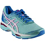 ASICS Women's Gel-Cumulus 18 Running Shoe, Aqua Splash/White/Pink Glow, 8.5 D US