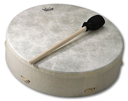 Remo 16 in. Buffalo Frame Hand Drum - Plain