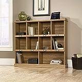 Sauder Barrister Lane Bookcase, L: 53.15' x W: 12.13' x H: 47.52', Scribed Oak finish