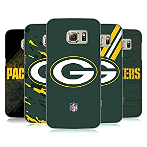 Official NFL Green Bay Packers Logo Hard Back Case for Samsung Galaxy S7 edge by Head Case Designs
