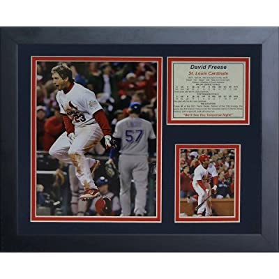 Legends Never Die David Freese 2011 Celebration Framed Photo Collage, 11x14-Inch by Legends Never Die