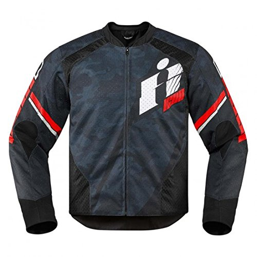 Icon Overlord Primary Textile Jacket Red M 2820-3648