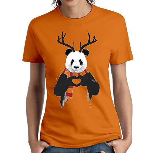 Plush Kung Fu Panda Mask - Wxf Womens Funny Panda Fashion Tshirts